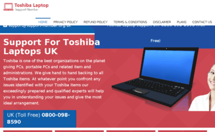 toshiba support us