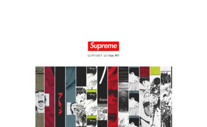 Supremenewyork.jp website. Supreme. e52934823