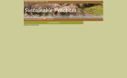 sustainablepractices.info