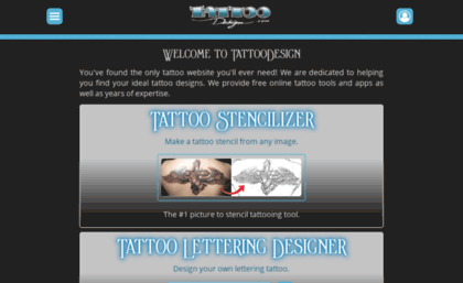 Tattoodesign Com Website Tattoodesign Com We Help You Design Your Own Tattoo