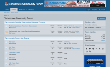 Technomate-community-forum com website  Technomate Community