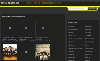 Tellyupdates us website  The Official Website of YIFY