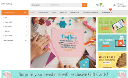 Thecraftshop In Website Buy Art And Paper Craft Supplies Online In
