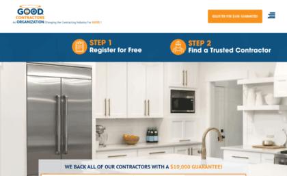 Thegoodcontractorslistcom Website The Good Contractors List Of