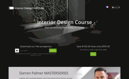 Theinteriordesigninstituteca Website The Interior Design