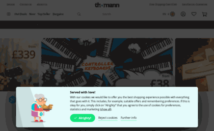 Thomann uk website  Welcome – Thomann UK