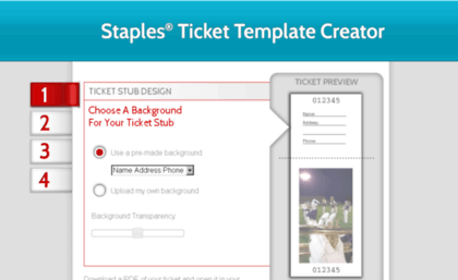 image about Staples Printable Tickets titled world-wide-web. Print Tickets.