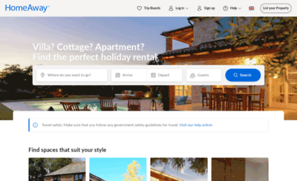 Toprural co uk website  HomeAway co uk | Book your holiday