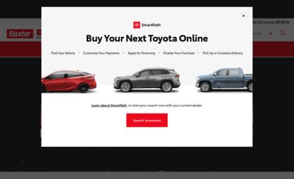 Baxter La Vista >> Toyotaoflavista Com Website Baxter Toyota La Vista Toyota Sales