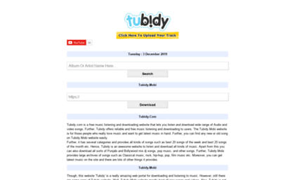 Tubidy com co website  Tubidy Com MP3 Music Tubidi Videos