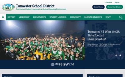 Tumwater k12 wa us website  Tumwater School District