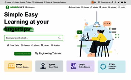 Tutorialspoint Com Website Parallax Scrolling Java Cryptography