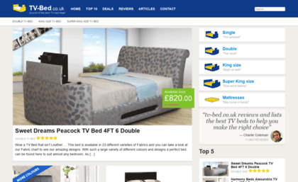 Tv Bedcouk Website Tv Beds Reviews Ratings And Where