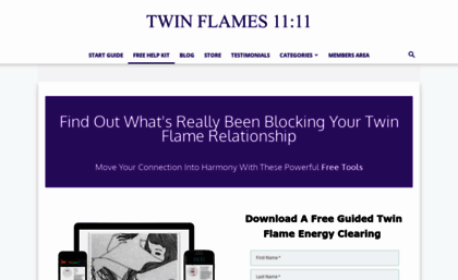 Twinflames1111 com website  Free Twin Flame Help Kit - Instant Download
