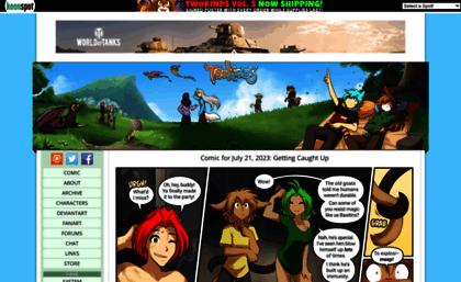 Twokinds.keenspot.com website....