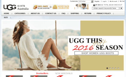 ugg outlet website