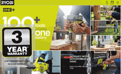 Uk ryobitools eu website  Ryobi Tools UK | Power tools, ONE+