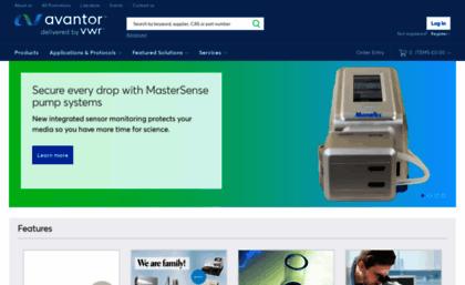 Uk vwr com website  VWR, Part of Avantor - Chemicals and