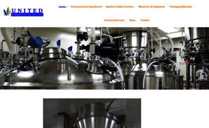 Unitedpharmaceuticals com website  United Foods Corporation