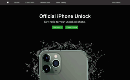 Unlockiphoneofficial com website  Official iPhone Unlock and Free