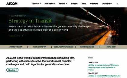 Urscorp.com website. AECOM – Engineering, Design, Construction ...