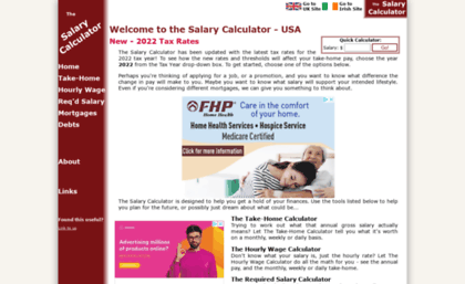 Us thesalarycalculator co uk website  The Salary Calculator