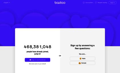 websites similar to badoo