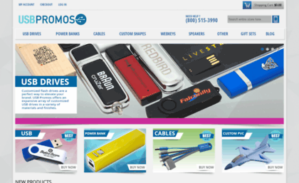 Usbpromos website custom usb flash drives and power banks usb usbpromos thecheapjerseys Gallery