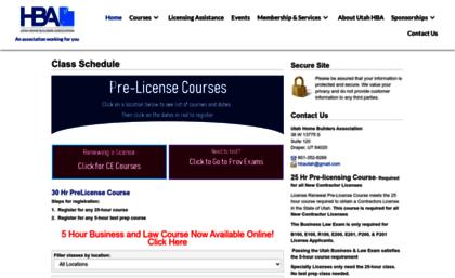 Utahhomebuildersassociation Enrollware Com Website Utah Home