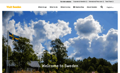 visit sweden website