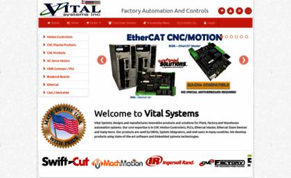 Vitalsystem com website  CNC Mach3 Mach4 Motion Controller