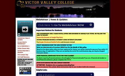 webadvisor vvc