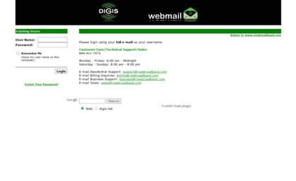 digis web mail