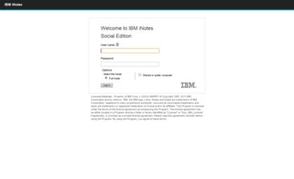 Webmail stdom com website  IBM iNotes Login