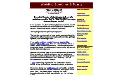 wedding speech net website wedding speech wedding toasts