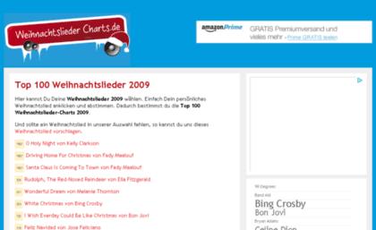 Top Weihnachtslieder.Weihnachtslieder Charts De Website Günstige Prepaid Gameserver
