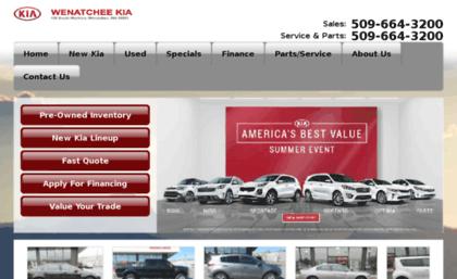 Wenatchee Car Dealers >> Wenatcheekia Com Website Kia Dealer And Used Cars Serving