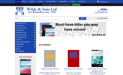 Wildy co uk website  Wildy & Sons Ltd — The World's Legal