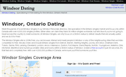 Windsor ontario personals