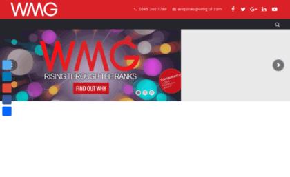 Wmg uk com website  SEO & Digital Marketing Agency - Leeds & London