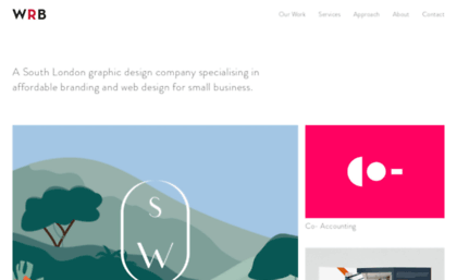 Wrbdesign Co Uk Website Wrb Design Branding Web Design South London