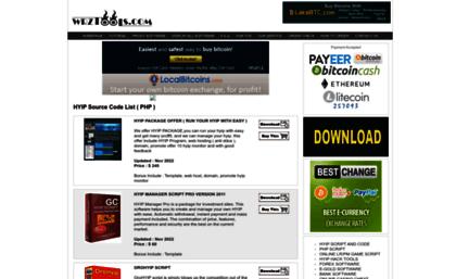 Wrztools com website  Www wrztools com ( software, hyip