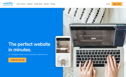 build your own websites free