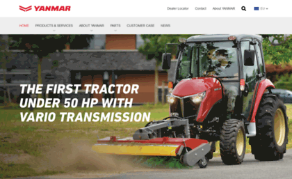 Yanmar eu website  Experience and expertise in engineering - Yanmar