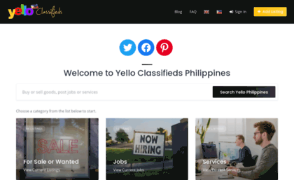 Yello com ph website  Yello ph - Classifieds Ads Philippines