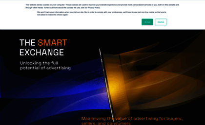 Yieldmo.com website. Yieldmo — Expect more from mobile advertising.