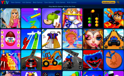 Yivcom Website Free Mobile Games And Tablet Games Online Yivcom