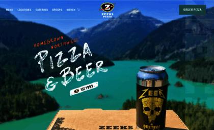 Zeekspizza com website  Seattle Best Pizza - Dine-in