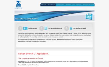 Zeeviewtube zeetv com website  Zee TV Official Website: Zee