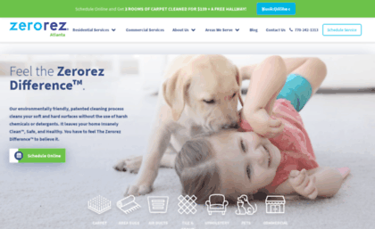 Zerorezatlanta Com Website Carpet Cleaning Experts